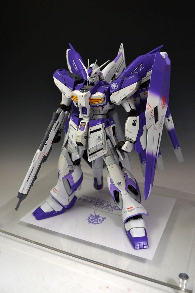 MG 1/100 Hi-νガンダム Ver.ka アピールショット1