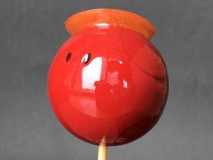 ハロりんご飴