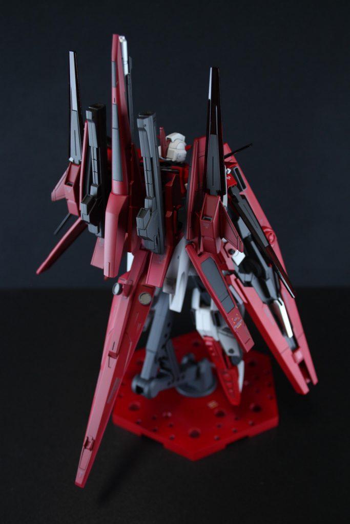 HG ガンダムAGE-FXオービタル 制作工程1