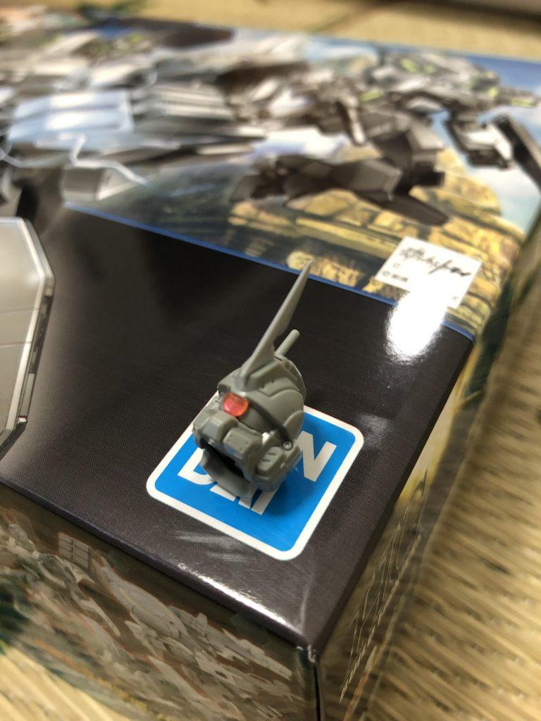 陸戦型ガンダム改「ビトレイヤー」 制作工程1