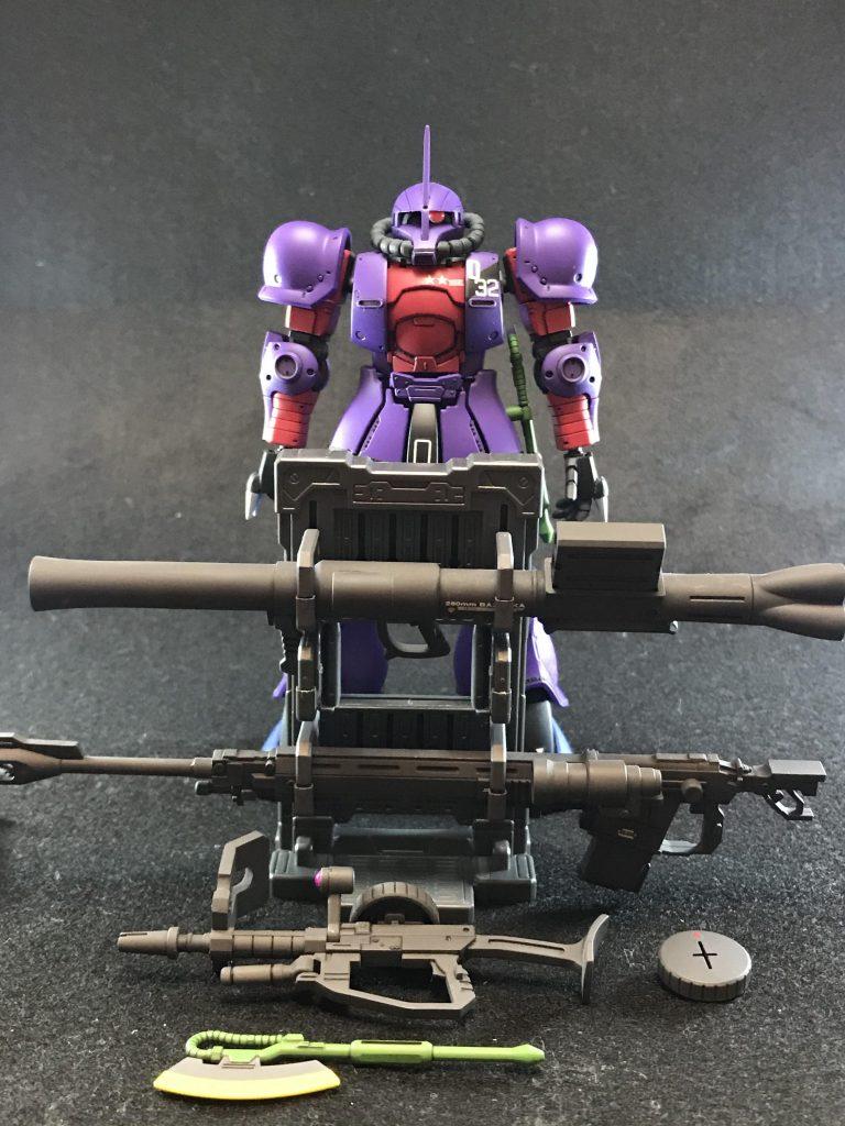 MS-05Q(ノリス=パッカード小佐機) 制作工程8