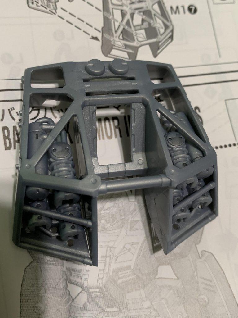 ガンダムNT-1 アレックス 制作工程2