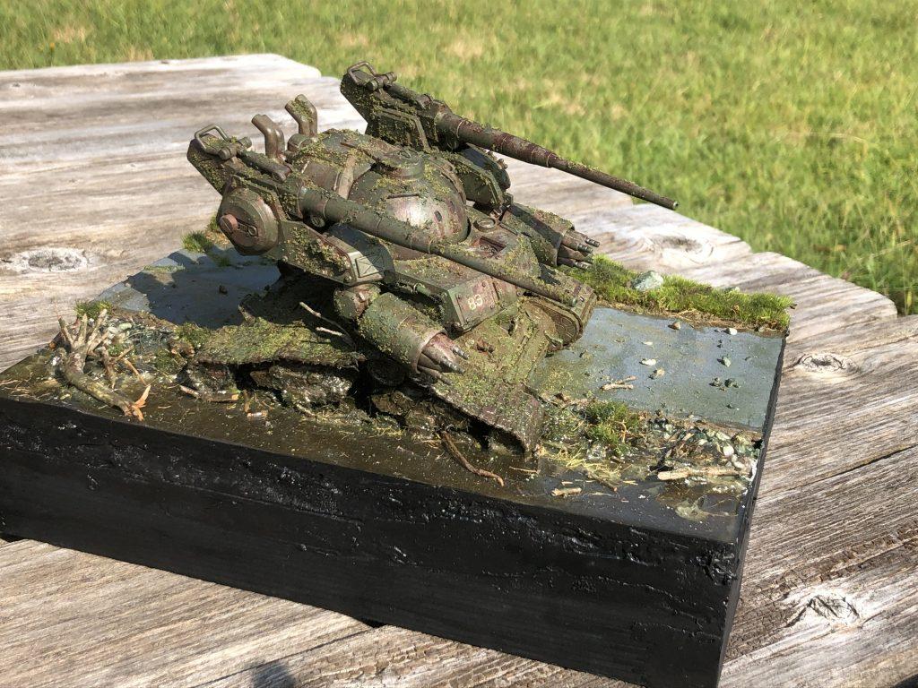 86式対MS特殊戦車 ジオラマ -postwar- アピールショット7