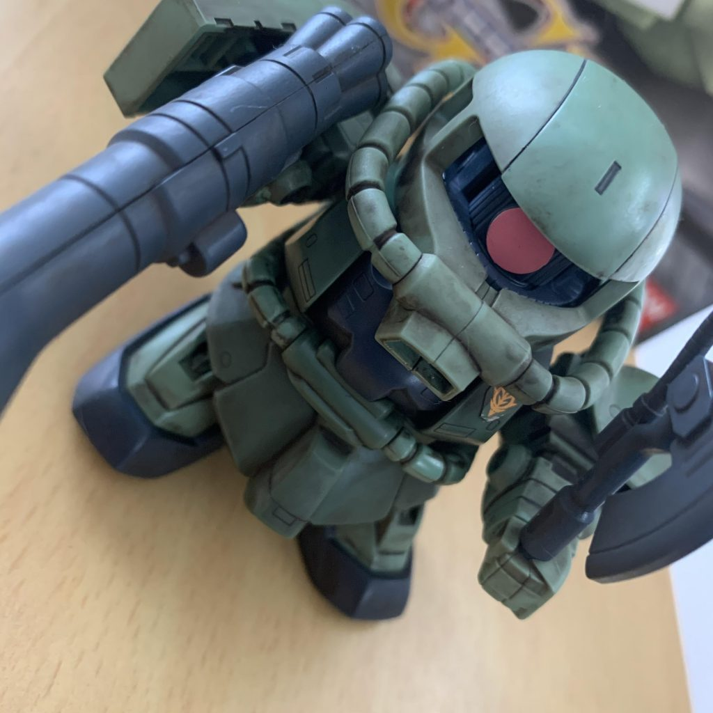 BB戦士 ザクⅡ F型