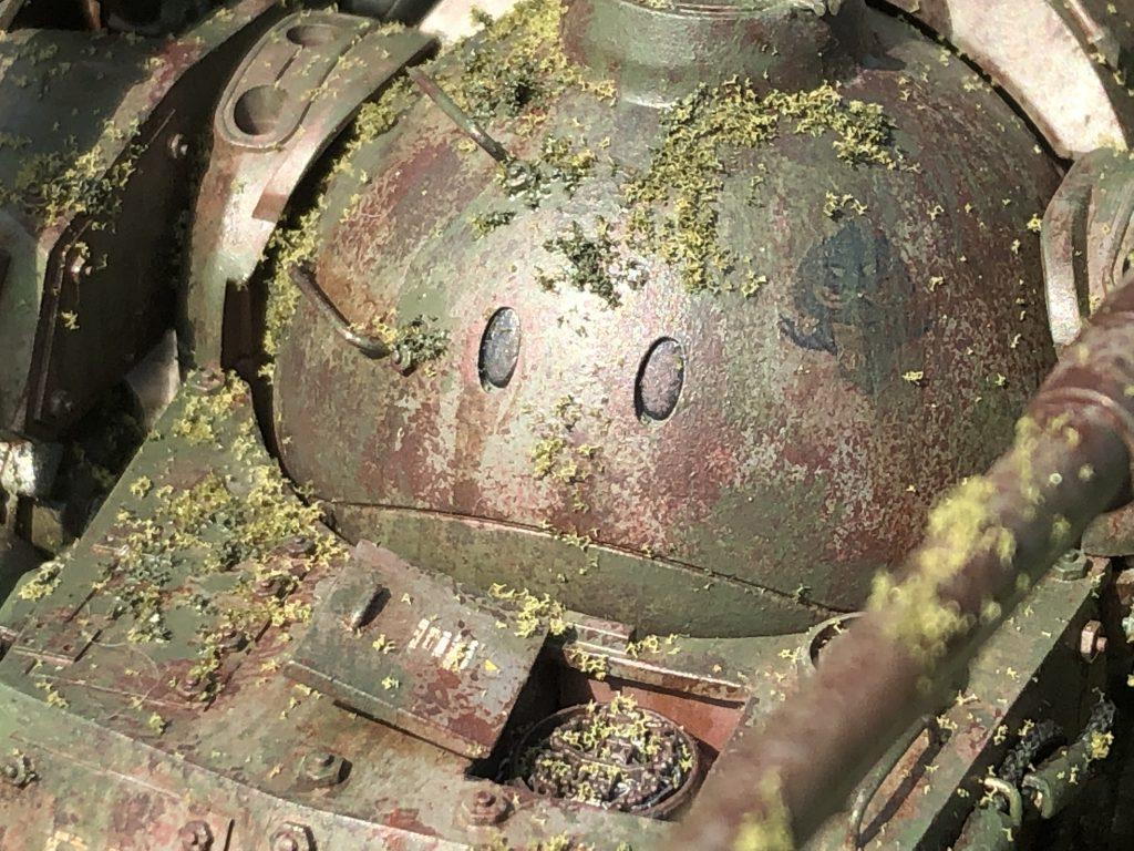 86式対MS特殊戦車 ジオラマ -postwar- アピールショット1
