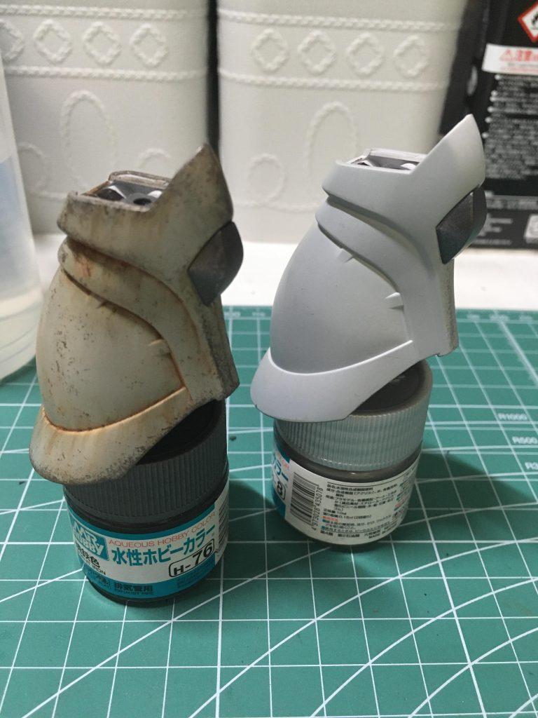 HGMSV-R シン・マツナガ専用ゲルググJ 制作工程3