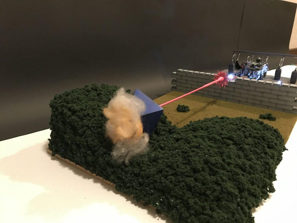 ヤシマ作戦 ガンダムversion 制作工程1
