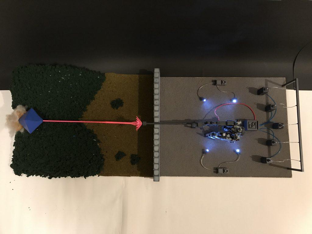 ヤシマ作戦 ガンダムversion 制作工程2