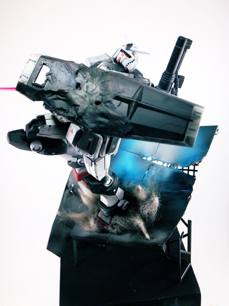 RX78-1-c1 ガンダム1号機改 アピールショット3