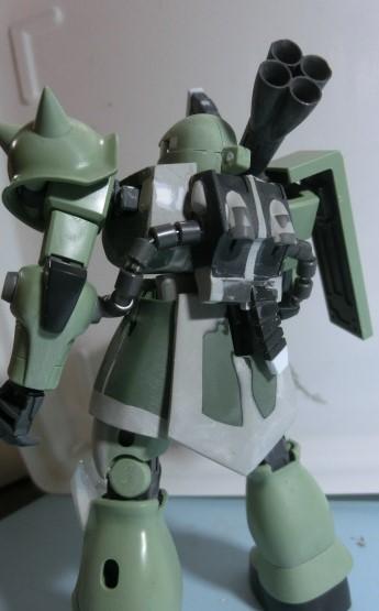 HGUC1/144 ザクⅡ THE ORIGIN ランバル小隊ステッチ機 制作工程3