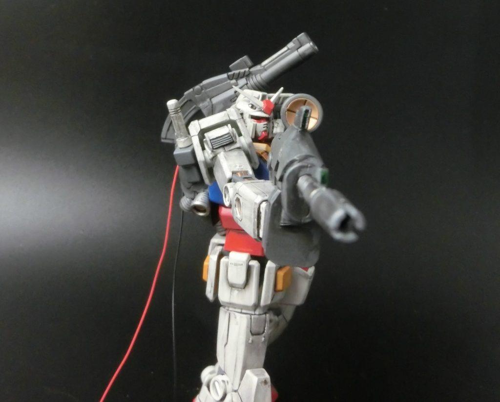 HGUC 1/144 RX-78-2 ガンダム THE ORIGIN アピールショット4