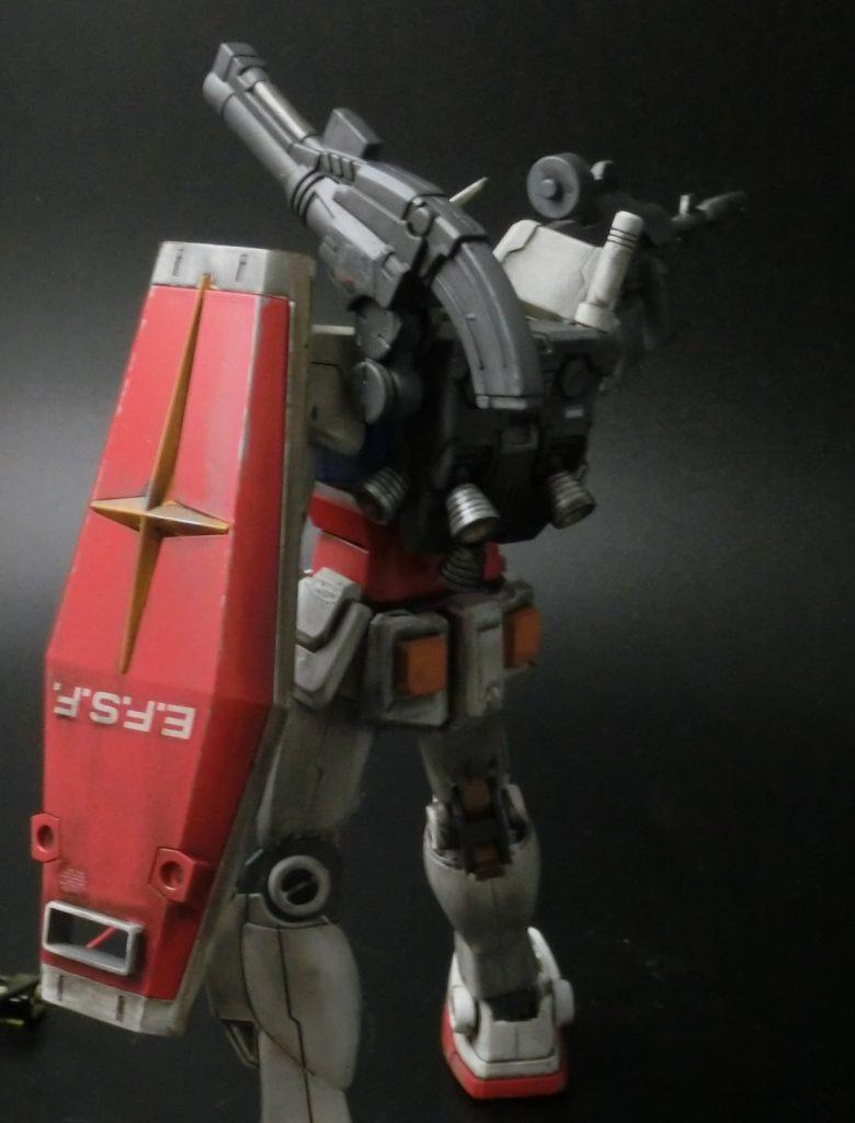 HGUC 1/144 RX-78-2 ガンダム THE ORIGIN アピールショット2