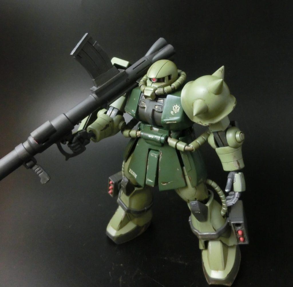 HGUC1/144 ザクⅡ THE ORIGIN ランバル小隊ステッチ機