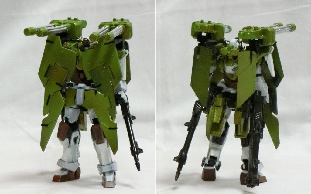 GN-103X ガンダムバスターデュナメス アピールショット1