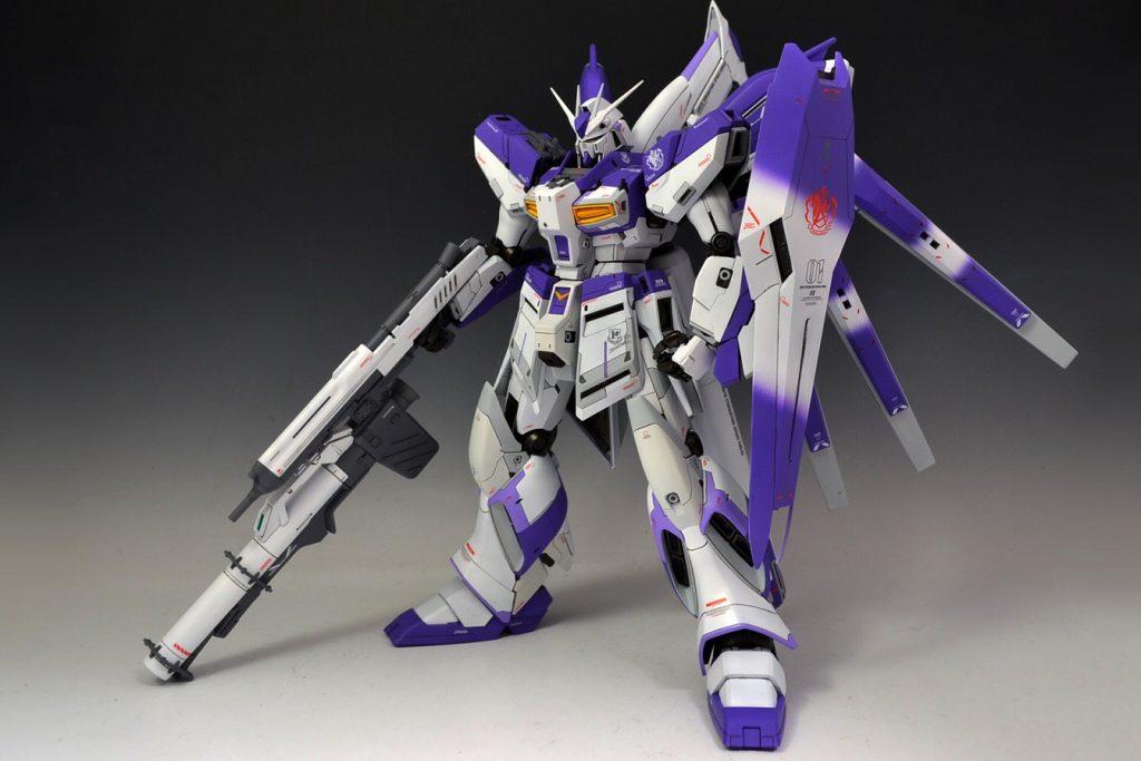MG 1/100 Hi-νガンダム Ver.ka アピールショット3