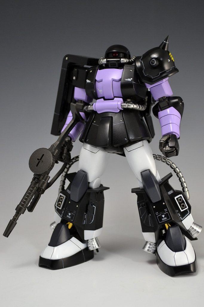 HGUC 黒い三連星ザクⅡ アピールショット1
