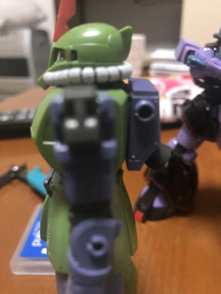MS-05Q(ノリス=パッカード小佐機) 制作工程3