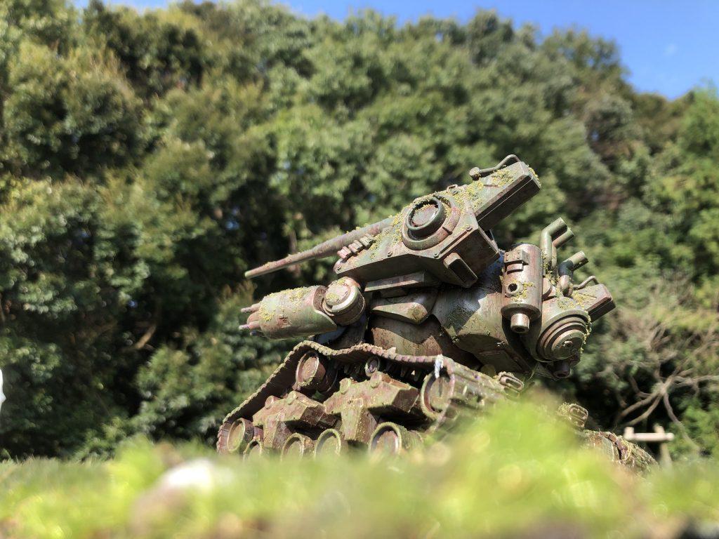 86式対MS特殊戦車 ジオラマ -postwar- アピールショット6