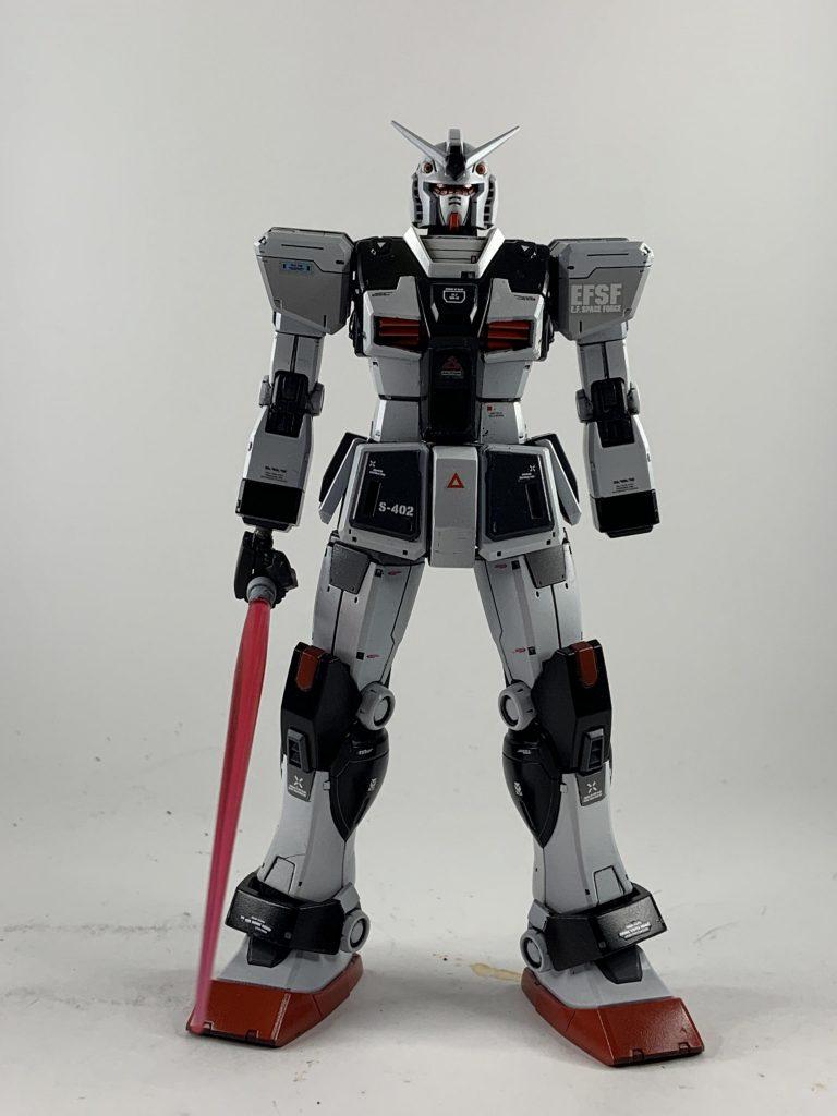 RX78-1-c1 ガンダム1号機改 制作工程4