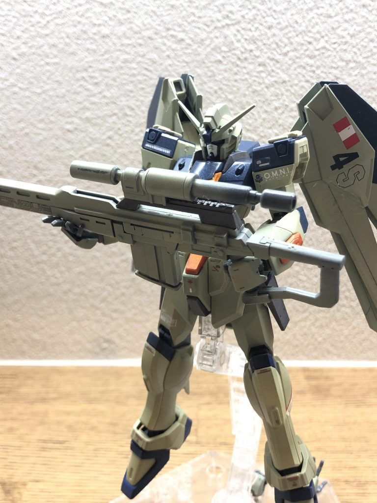量産狙撃型フリーダム アピールショット1