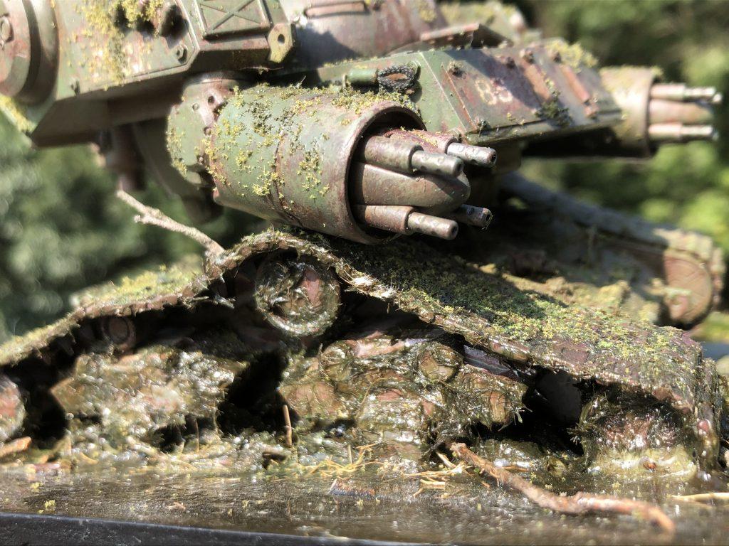 86式対MS特殊戦車 ジオラマ -postwar- アピールショット3
