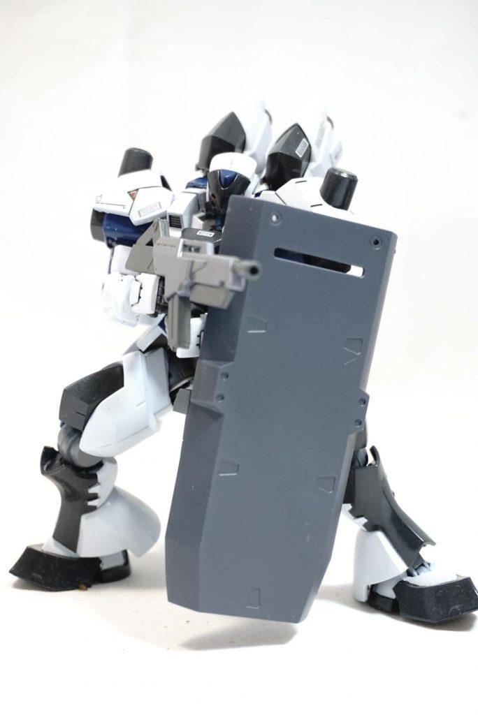 """拠点防衛型機 """"白影"""" 制作工程5"""
