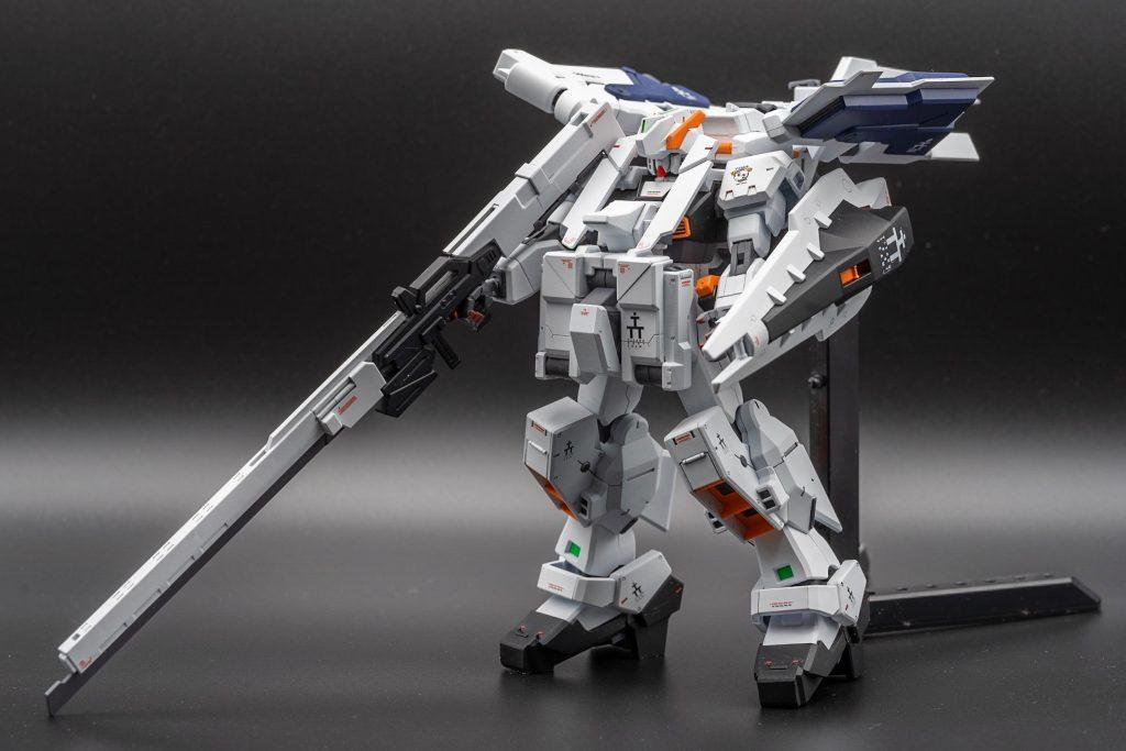 HGUC ガンダムTR-1[ヘイズル・ラー]フルアーマー形態 アピールショット2