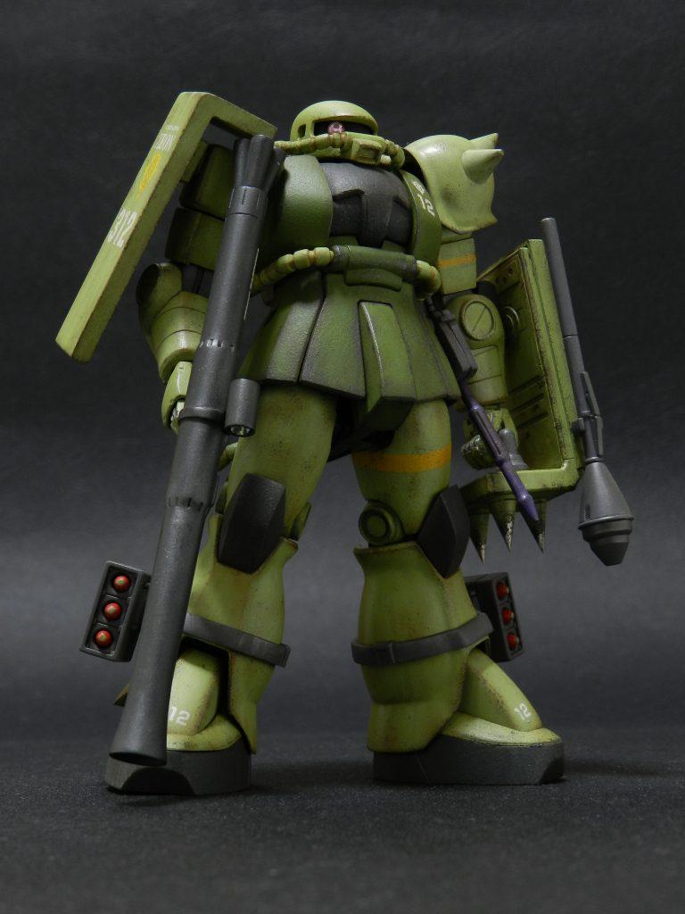 MS- 06J ザク陸戦仕様 アピールショット6