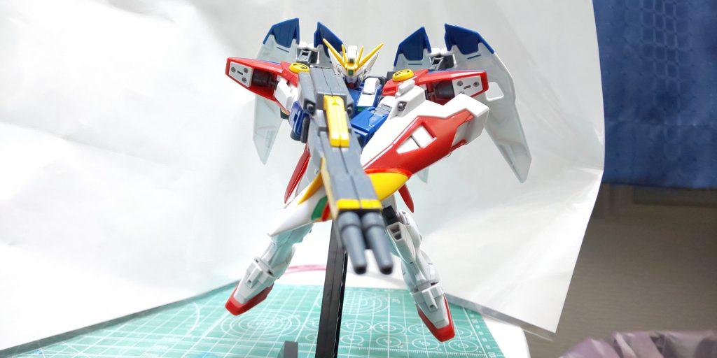 XXXG-00W0 WING GUNDAM ZERO アピールショット2