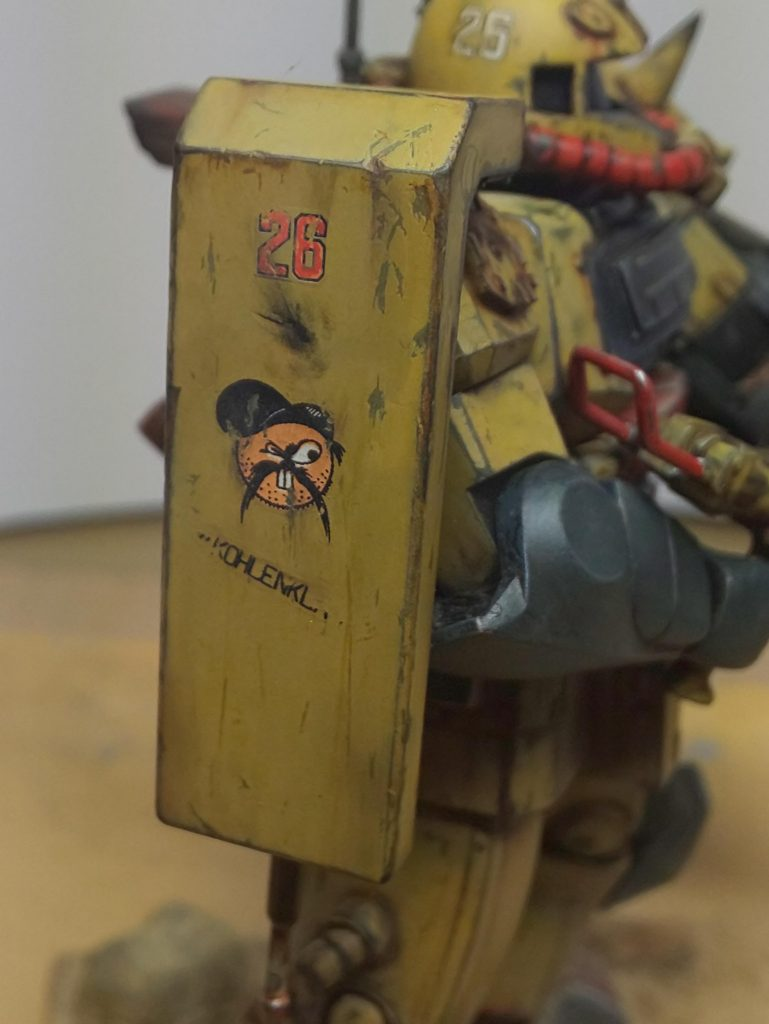 ジオンアフリカ軍団 アピールショット2