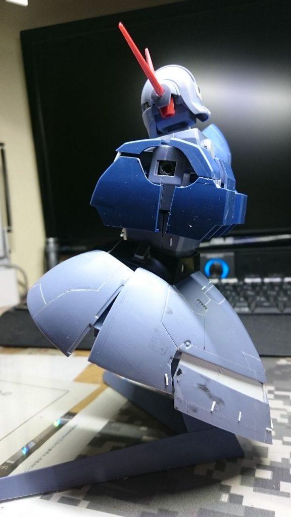 ジオング 制作工程3