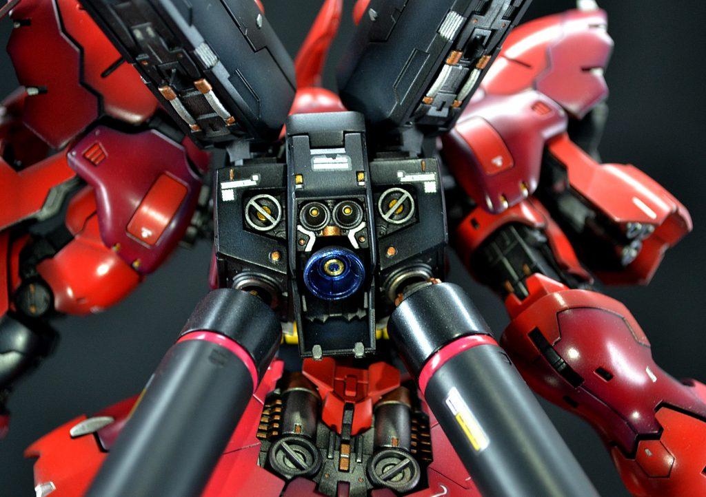 RG 1/144 MSN-04 サザビー (機動戦士ガンダム 逆襲のシャア) アピールショット6