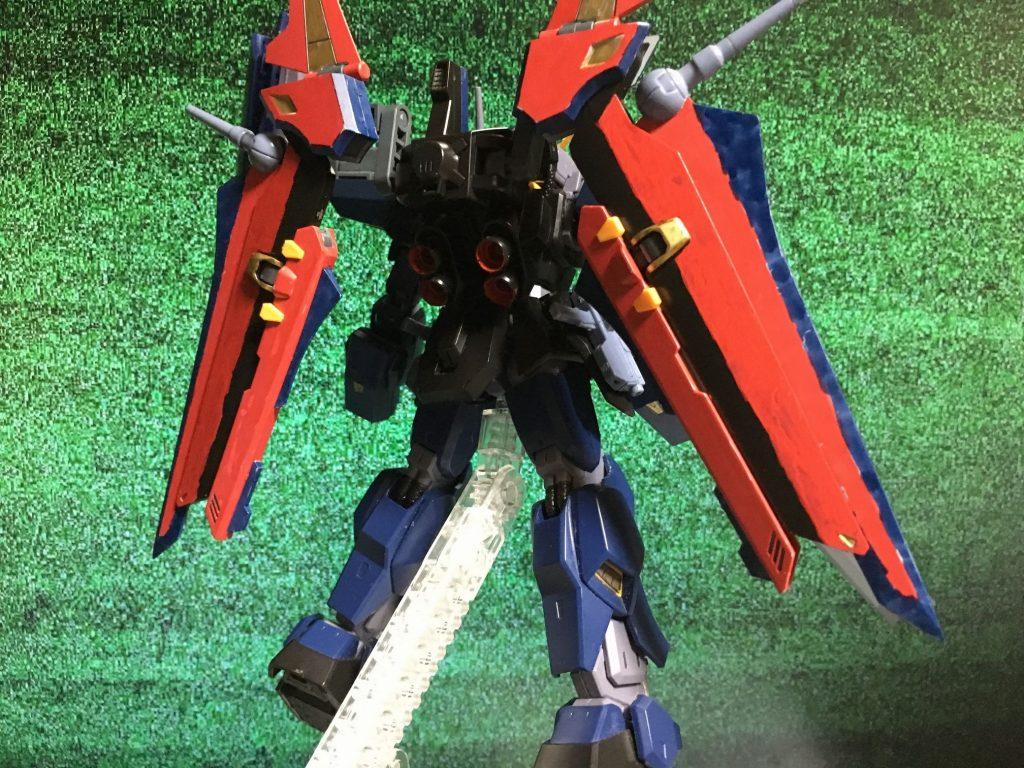 ヘルコマンダー ガンダムmk-II アピールショット2