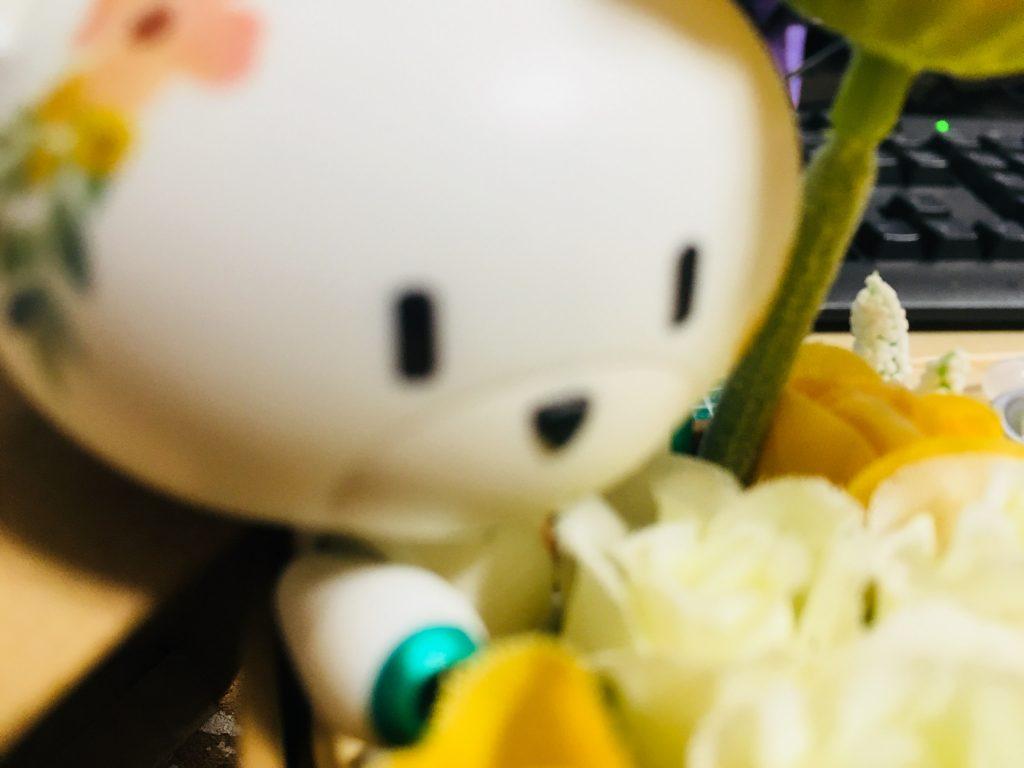 プチギフトッガイ 〜イエローフラワー〜 制作工程3