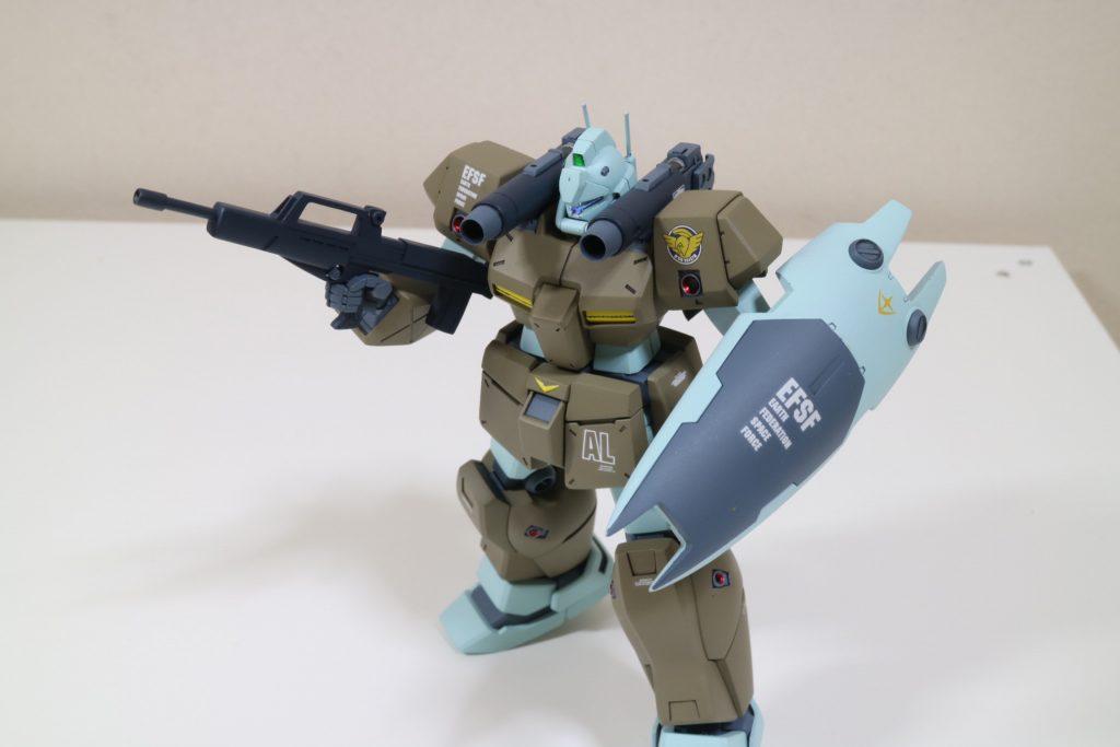 hguc125 ジムキャノンⅡ アピールショット3