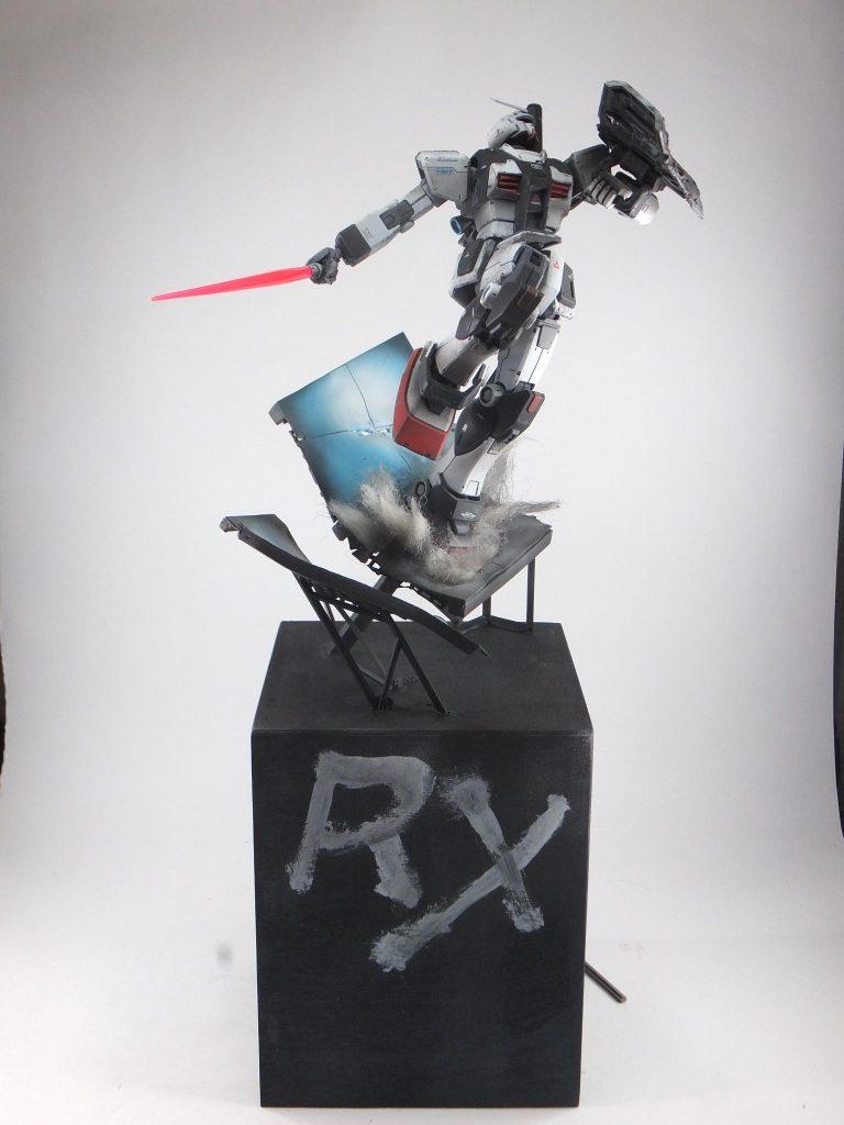 RX78-1-c1 ガンダム1号機改 アピールショット4
