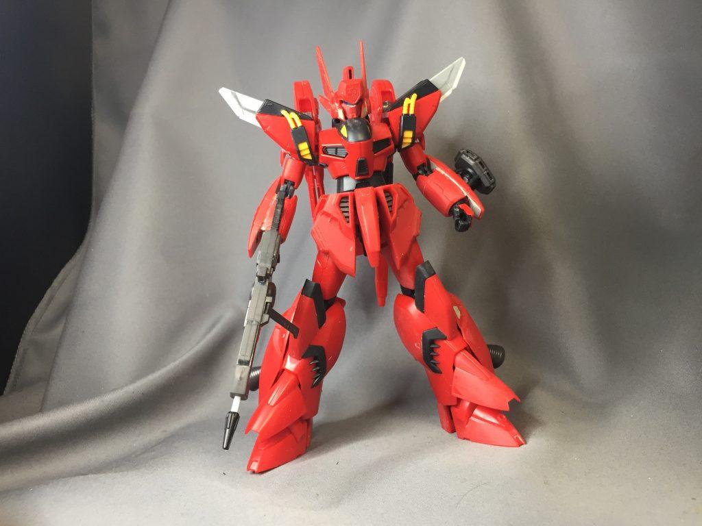 Re1/100ビギナ・ゼラ 制作工程2