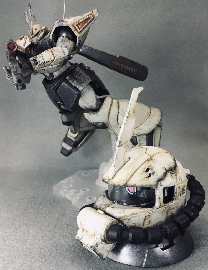 HGMSV-R シン・マツナガ専用ゲルググJ アピールショット8