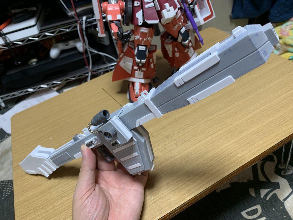 PG 高機動型ザク 制作工程3