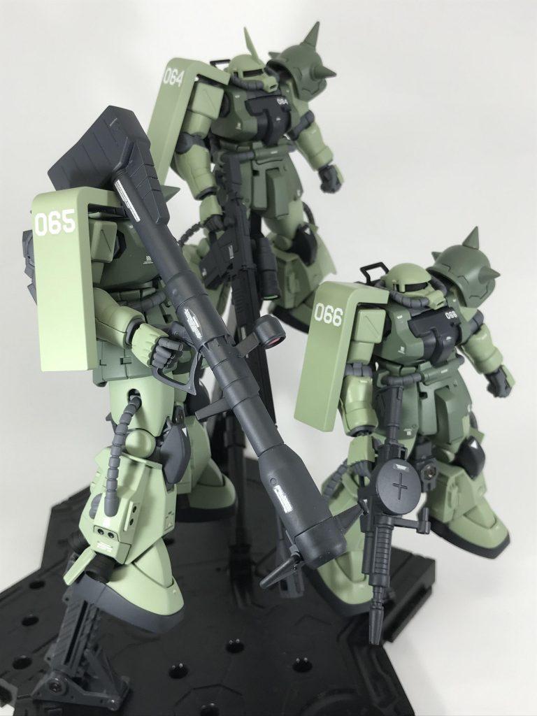 高機動型ザクⅡ アピールショット3