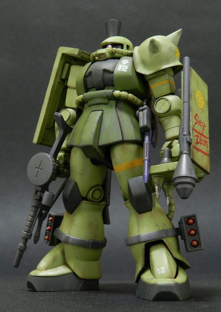 MS- 06J ザク陸戦仕様 アピールショット5