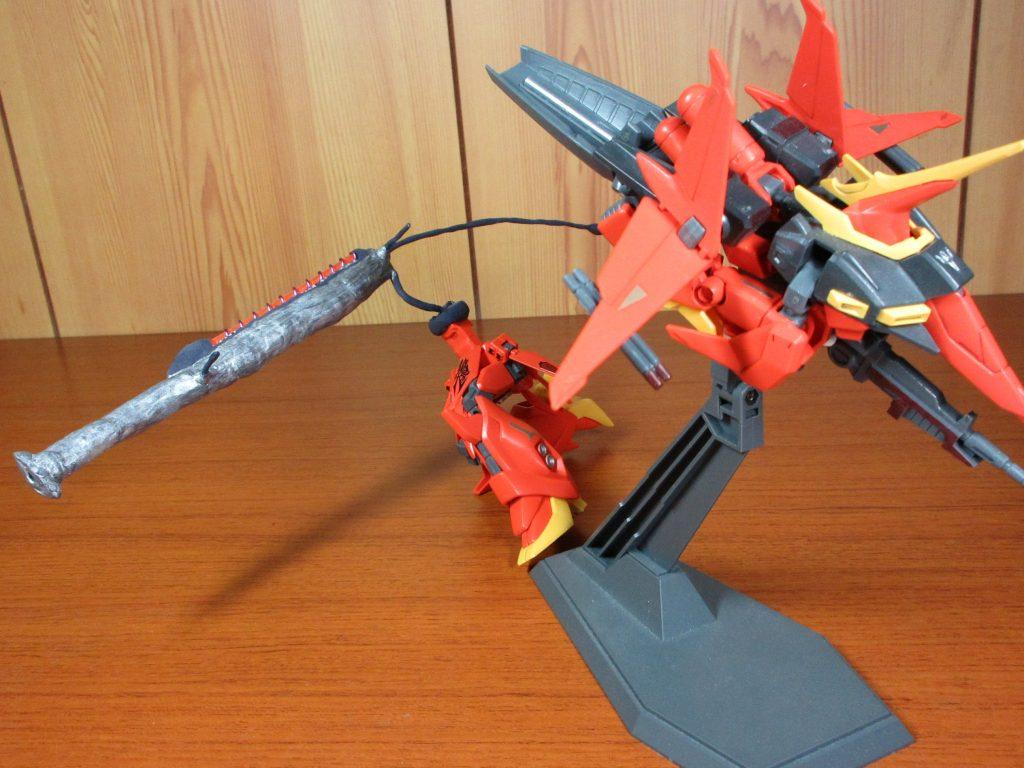 hguc015バウ・自走砲モード