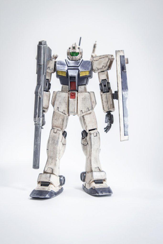 1/144 RGM-79C「ジム改」HG アピールショット2