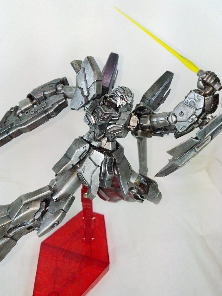 鋼鉄の、シナンジュ・スタイン 制作工程1