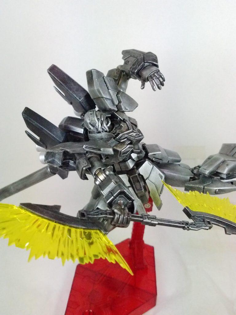 鋼鉄の、シナンジュ・スタイン アピールショット3