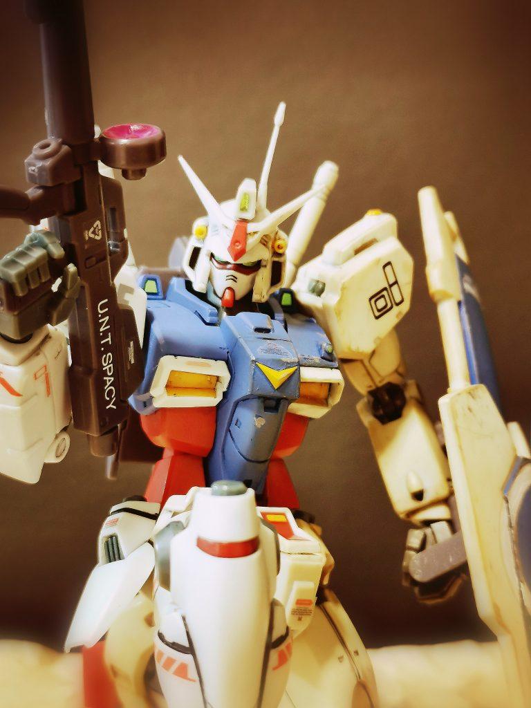 RX78-gp01 (ロボット魂リペイント+α)
