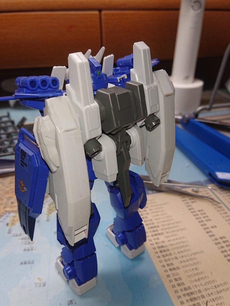 ガンダムEZ-XX   阿頼耶識搭載試験型 アピールショット1