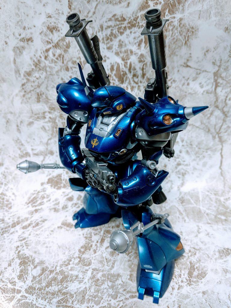 MGケンプファー 缶スプレー塗装 アピールショット1