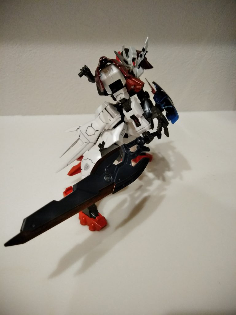 ガンダムアスタロト 鎧式/クリムゾンエッジ アピールショット4