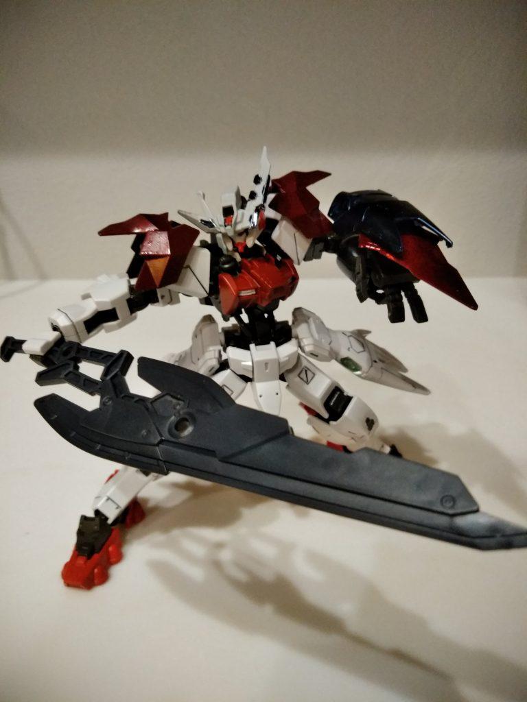 ガンダムアスタロト 鎧式/クリムゾンエッジ アピールショット5